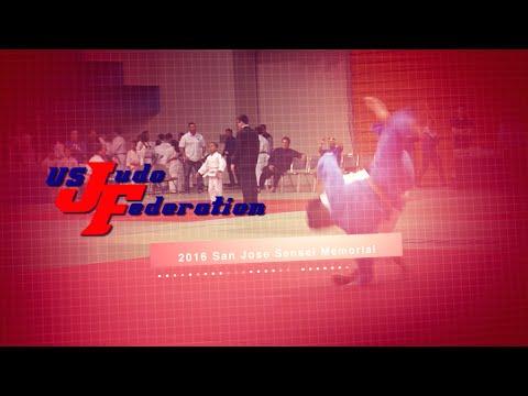 2016 San Jose Sensei Memorial Judo Tournament Highlight Reel
