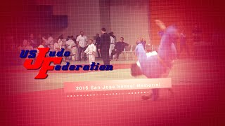 2016 San Jose Sensei Memorial Judo Tournament Highlight Reel