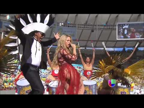 Shakira  La La La Brazil 2014 Copa Mundial  Fifa  HD