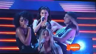 "Fifth Harmony - ""Work From Home"" en vivo (KCA México '17)"