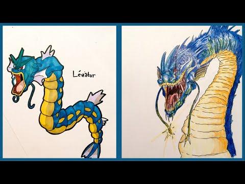 Je dessine un pokemon r aliste l viator youtube - Dessiner pokemon ...