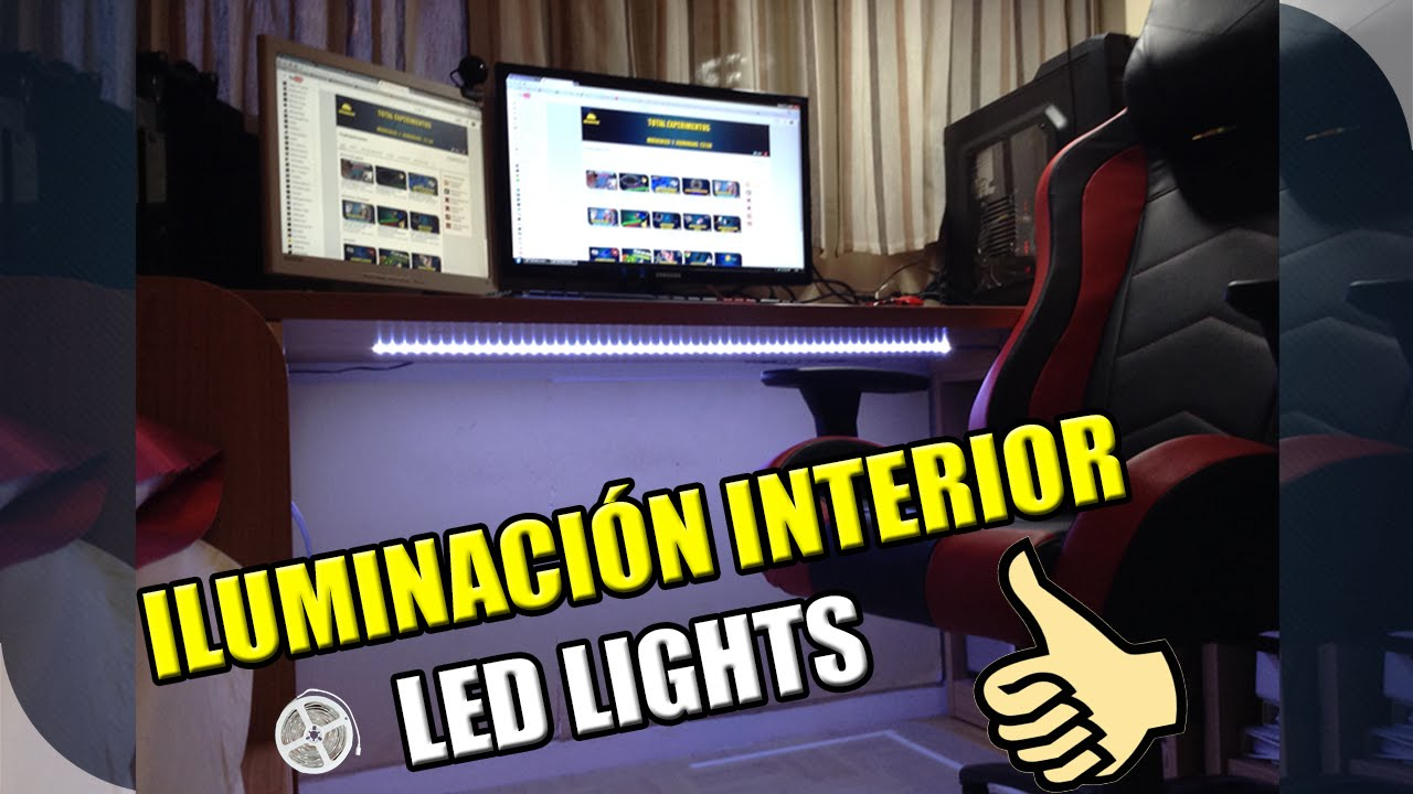 Decora tu habitaci n con tiras de led youtube - Tiras de led exterior ...