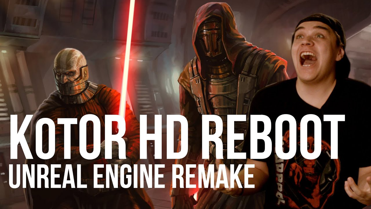 KotOR HD Reboot Announced! | Knights of the Old Republic Unreal Engine  Remake |