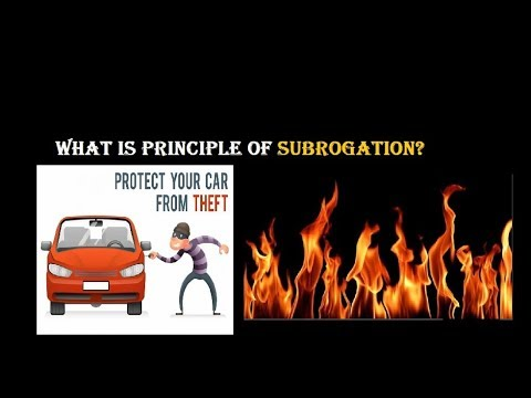 What Is Principle Of Subrogation Hindi Oct 2019 Youtube
