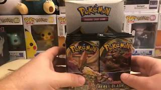 Pokemon Rebel Clash 1\/2 Booster Box Livestream!  The Hits Kept Coming!