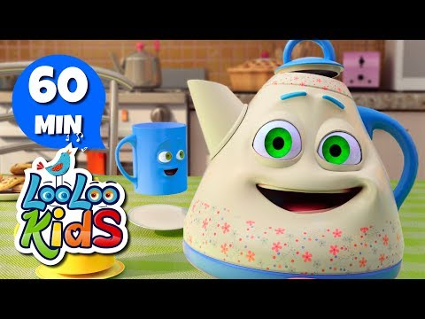I'm a Little Teapot - Fun Songs for Children | LooLoo Kids