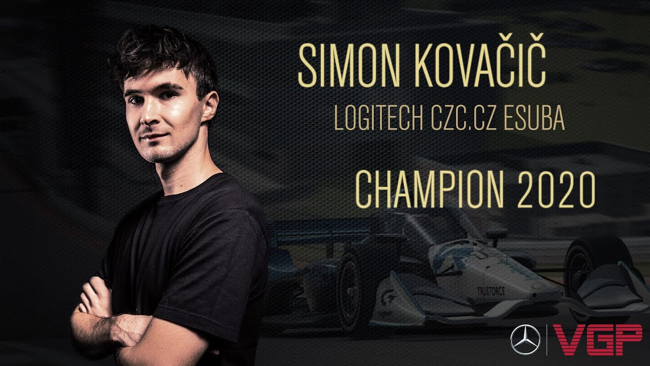 Congratulations: Simon Kovačič, Mercedes-Benz Virtual GP 2020 Champ!