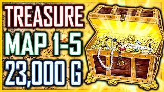 BEST BOW Treasure Map 1-5 HIDDEN 23,000+ Gold - Kingdom Come Deliverance