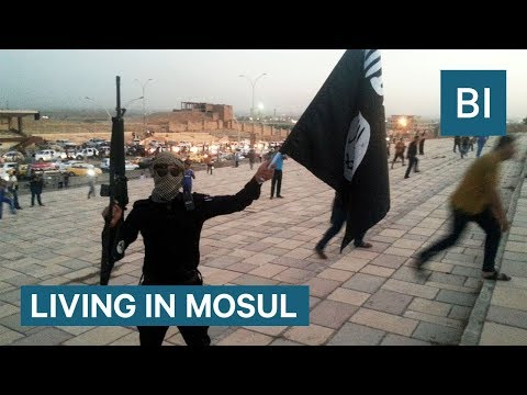 What's it like to live in a city controlled by ISIS?