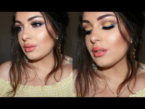 Chit Chat Colourful Double Winged Liner GRWM! 🍬✨ Smashing Darling x