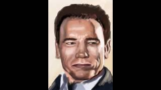 Интересные Новости! Портрет Павла Воли | Портрет Шварцнеггера | Видеоурок Procreate
