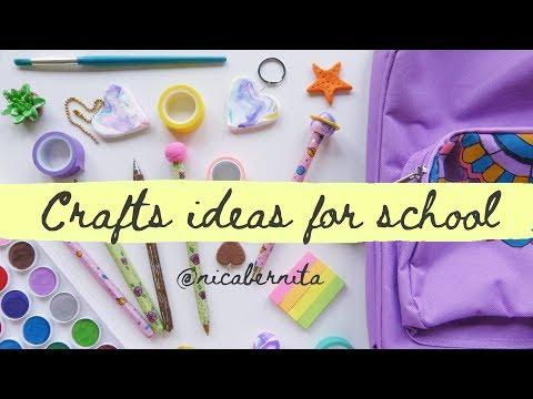 CRAFTS IDEAS FOR SCHOOL💜 BACK TO SCHOOL CRAFTS 💜 DIY SCHOOL SUPPLIES 2019