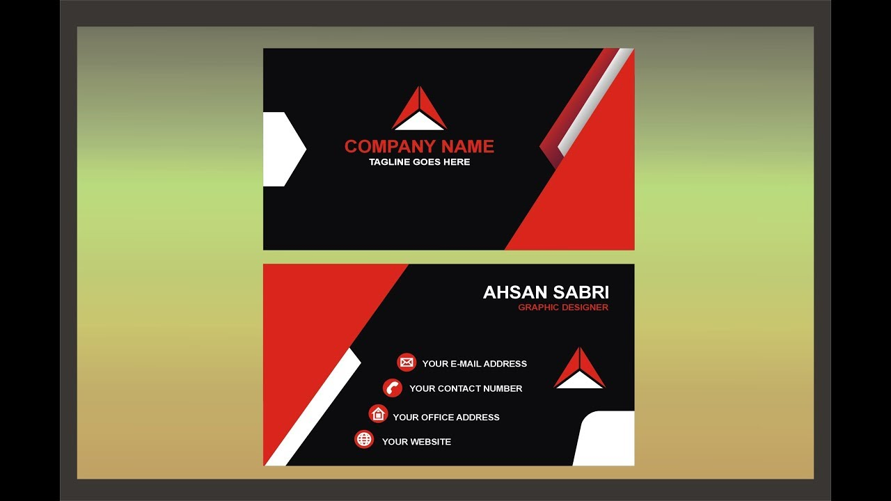 Professional business card design tutorial using coreldraw youtube professional business card design tutorial using coreldraw magicingreecefo Choice Image