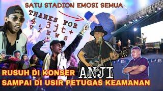 Download BIKIN RUSUH DI KONSERNYA ANJI, 1 STADION KANJURUHAN EMOSI SEMUA. AWALNYA DI USIR PETUGAS & AKHIRNYA!