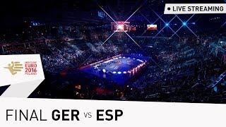 Men's EHF EURO 2016 Final | Germany vs Spain | Live Stream | Throwback Thursday