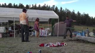 Funny Dancing Hippies (Black Mountain Family Reunion 2013)