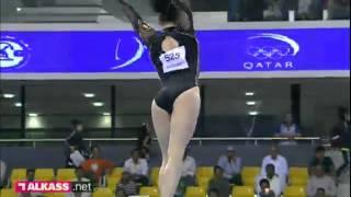 Ponor BB & DU Wei VT, Gymnastics Challenge Cup, Doha 2012
