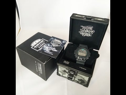 Casio GShock Bliss N Eso DW6900-BNE-1DR Review. HD