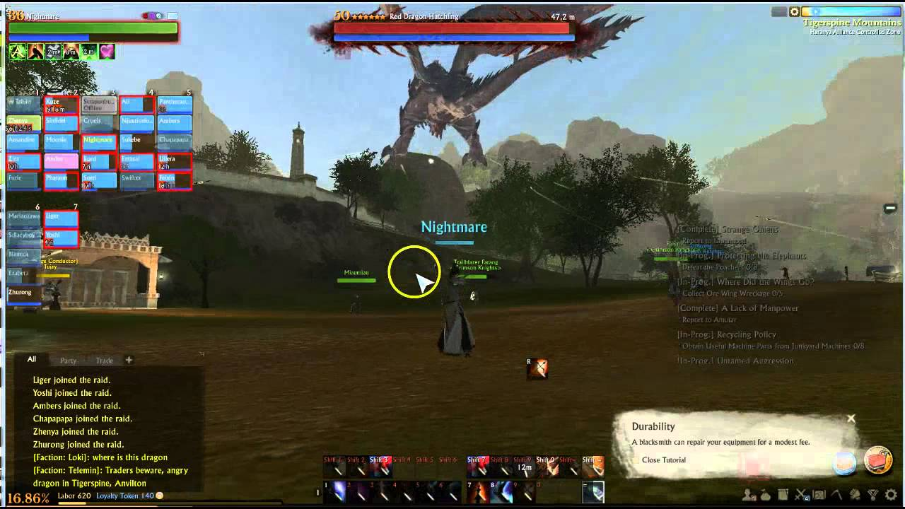 Archeage Red Dragon Event Spreading Fire 12pm Raid Thursday Youtube