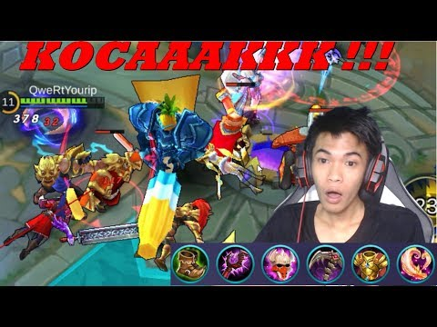 New Hero Gatot Kaca - New Map Summer Party - Mobile Legends #42