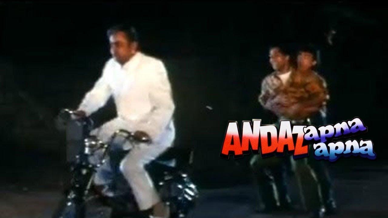 Paresh Rawal as Don - Andaz Apna Apna | Comedy Scene | Bollywood Movies