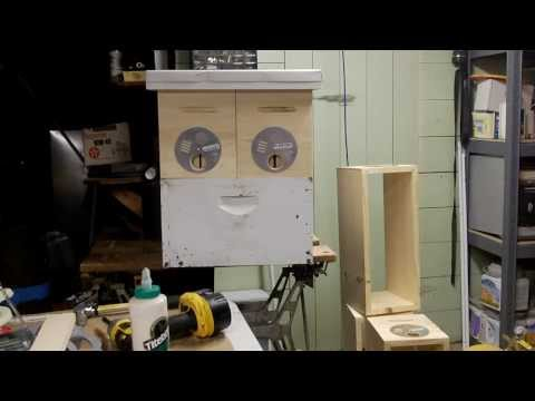Michael Palmer style nuc boxes - beekeeping, queen raising