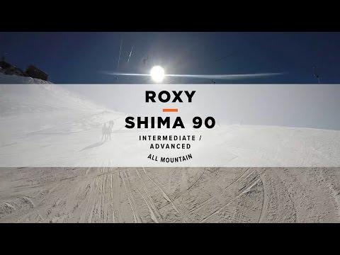 Avis roxy shima 90 all-mountain freeride skis