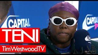 Teni on Nigeria, Wizkid, Askamaya, crazy London show, getting discovered, new music - Westwood