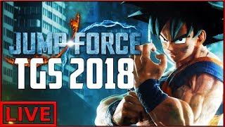 JUMP FORCE NEW CONTENT COMING! TOKYO GAMESHOW 2018!!