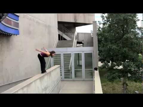 Girl Parkour - Erica Nicole Madrid (APEX Movement Pro Team) - 2010 Sampler