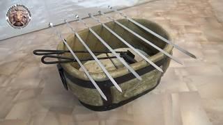 Видео обзор мангала и очагов от фирмы Барельеф.