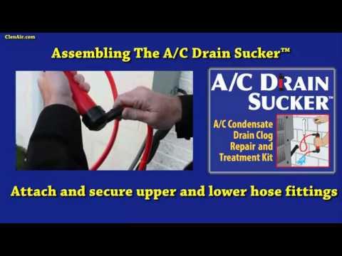 The A C Drain Sucker Repair Condensate Drain Pan
