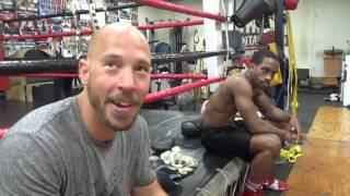Health Fitness Coach On Difference Between Smoking Weed & Smoking Cigaretes EsNews Boxing