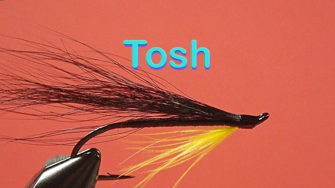 sea trout and salmon fly 3 x silver stoats tail double