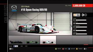 Forza Motorsport 4 Full Car List (In Game)