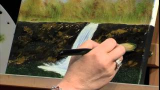 Lucys Big Beautiful World of Painting Fall Scene