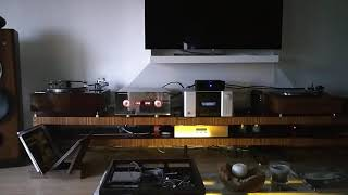 High End System by Miraudio electronics and   RS Audio tonearms and Turntables , owner Boris Pollux