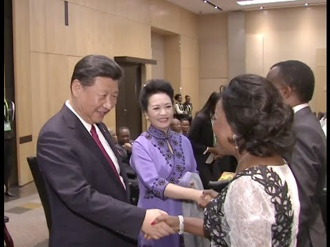 Xi Attends Welcome Dinner in Johannesburg