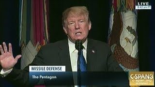 "President Trump ""We Will Recognize That Space is A New War Fighting Domain!"""