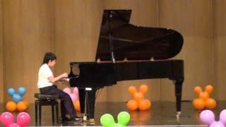 20160305 音樂發表會 蘇翊 鋼琴演奏 哈察都量 小奏鳴曲 第三樂章 百分音樂學苑 台南 音樂教室