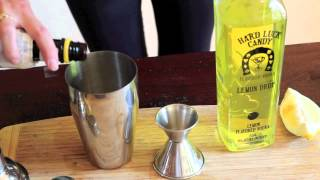 Makin' It With Maren - Halloween Cocktails - Lemon Pie Martini