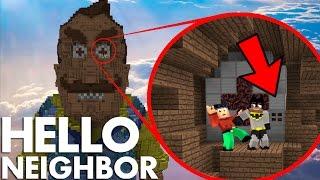 Minecraft Hello Neighbor - Batman & Robin Explore the Giga Neighbor House (minecraft Roleplay)