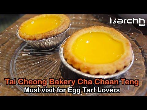 An Egg Tart Heaven at Tai Cheong Bakery
