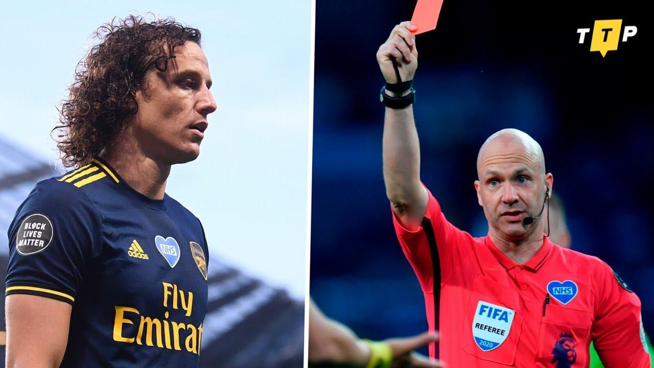 David Luiz Is Not Good Enough! Man City vs Arsenal 3-0 ...