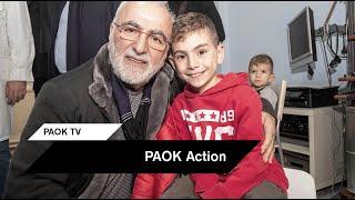 Ο Ιβάν Σαββίδης δίπλα στην Α' ΩΡΛ της Κλινικής του ΑΧΕΠΑ - PAOK TV