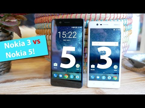 Vergleich: Nokia 3 vs. Nokia 5 | Hands On | deutsch