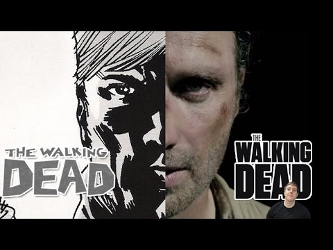 The Walking Dead Differences - TV Series vs Comic Book Series Special!