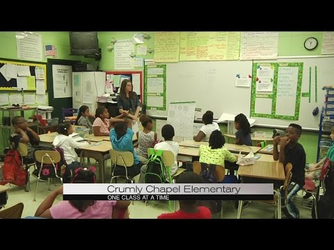 One Class at a Time: Crumly Chapel Elementary School