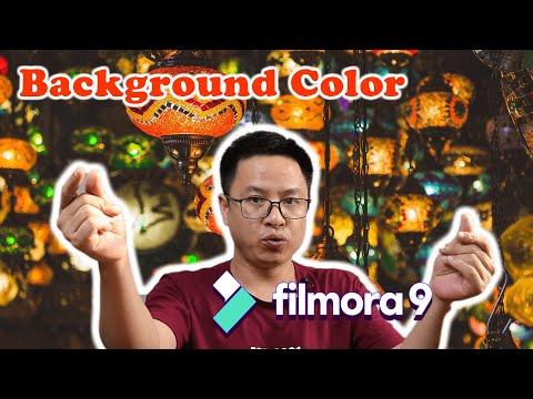 How to Change Video Background Filmora9