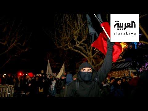 ما هي حركة أنتيفا التي اتهمها ترمب بالوقوف وراء أعمال العنف؟  - نشر قبل 2 ساعة